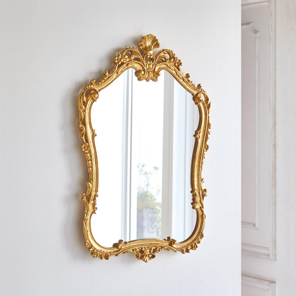 イタリア製ウォールミラー(鏡)小 幅60cm高さ86cm