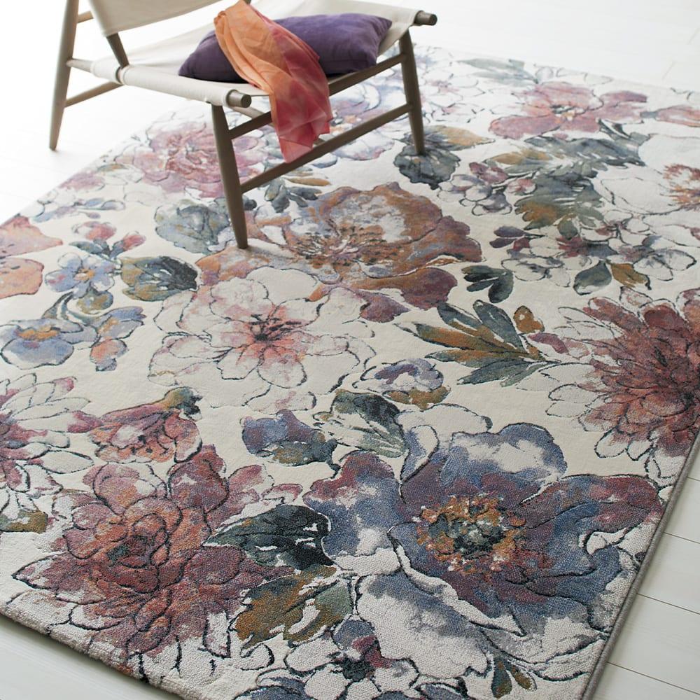 約160×230cm(ベルギー製ウィルトン織りラグ〈フィデリオ〉)