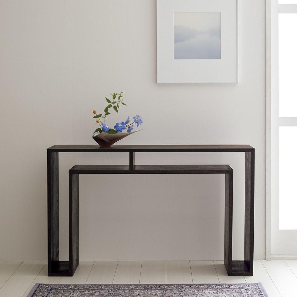 SHOJI ショージ オケージョナルテーブル 幅116高さ72cm コンソールテーブル[abode(アボード)/デザイン:ウー・バホリヨディン]