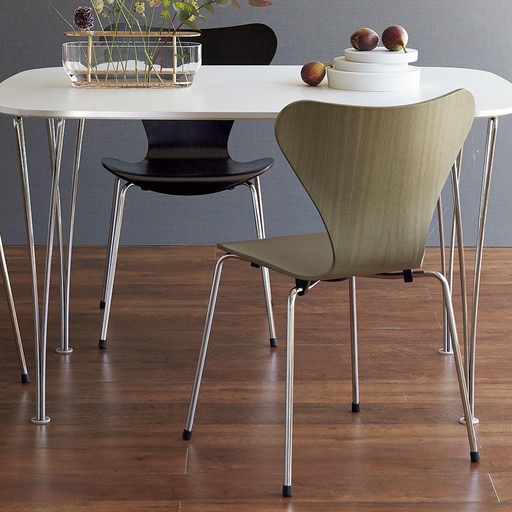 Seven Chair/セブンチェア カラードアッシュ[Fritz Hansen・フリッツ・ハンセン/デザイン:アルネ・ヤコブセン]