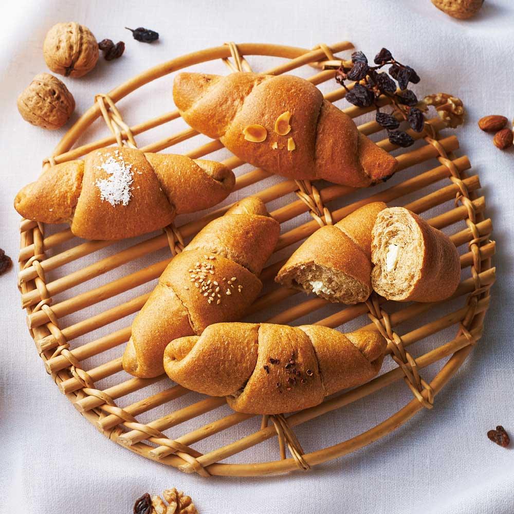 『フスボン』もっちり低糖質パン(10個セット)<br />※冷凍配送の為、ラッピングは対象外となります。
