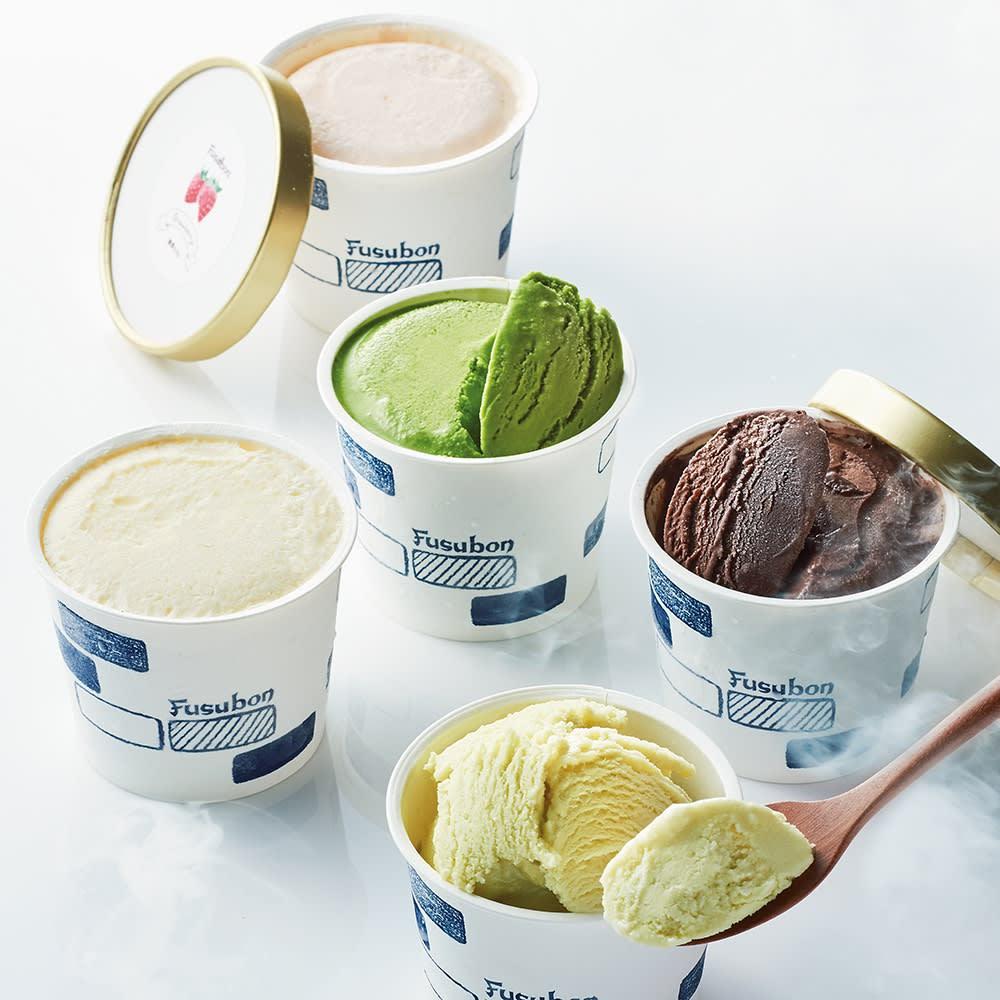 低糖質専門店「フスボン」 低糖質アイス詰合せ (各120ml 計5個)