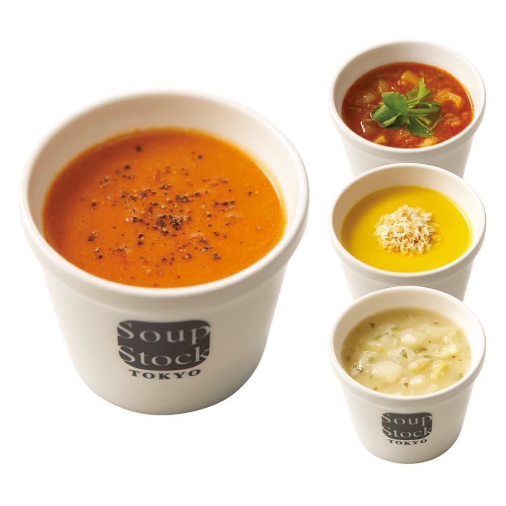 「スープストックトーキョー」 スープ頒布会 5回コース(12月~4月)