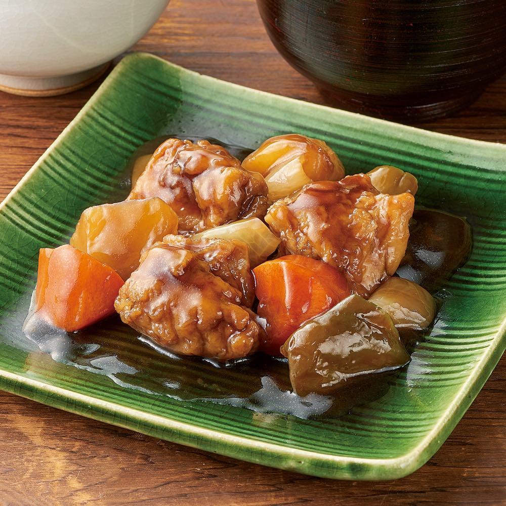 大戸屋監修 鶏肉と野菜の黒酢あん (160g×6袋)