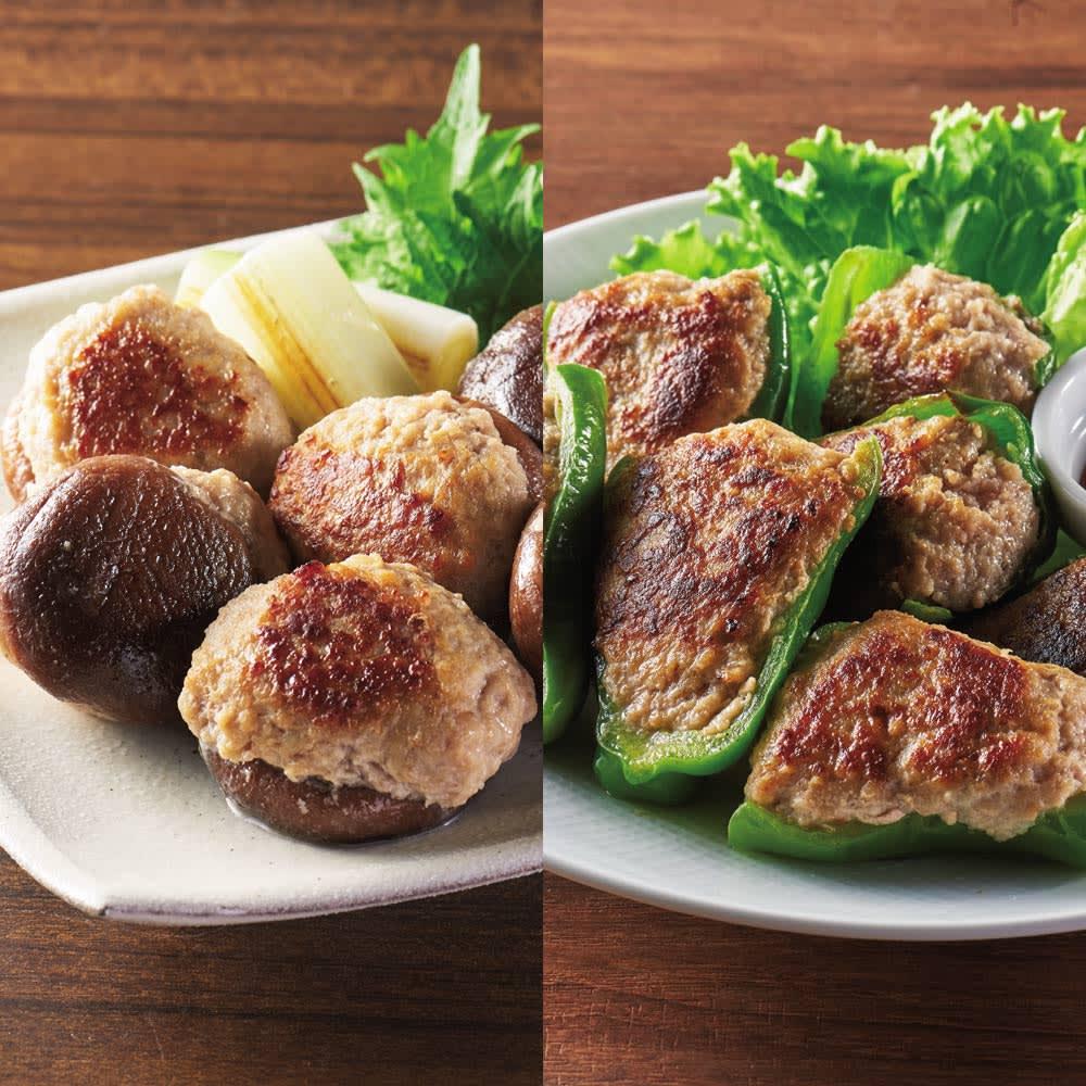 国産素材の肉詰めセット (2種 計5袋)
