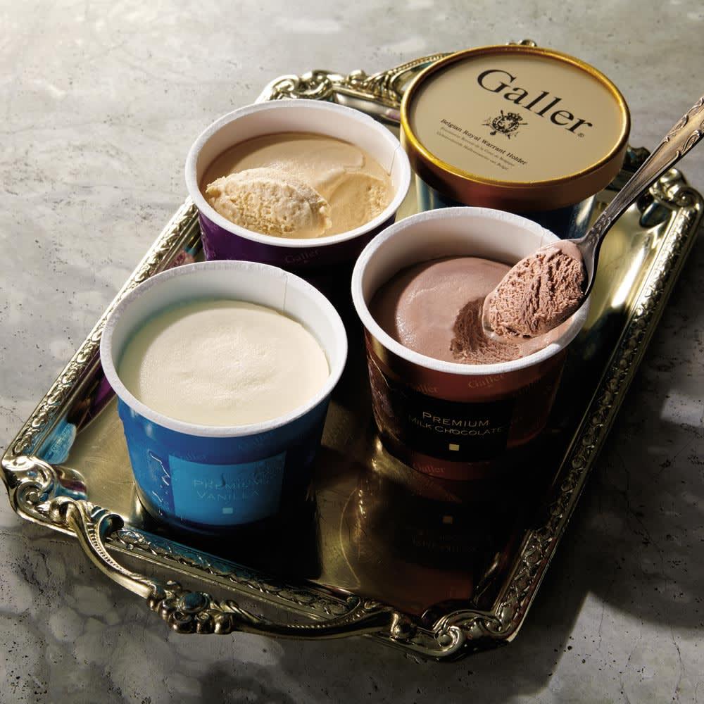 「ガレー」 プレミアムアイスクリームセット (3種計12個) 【通常お届け】