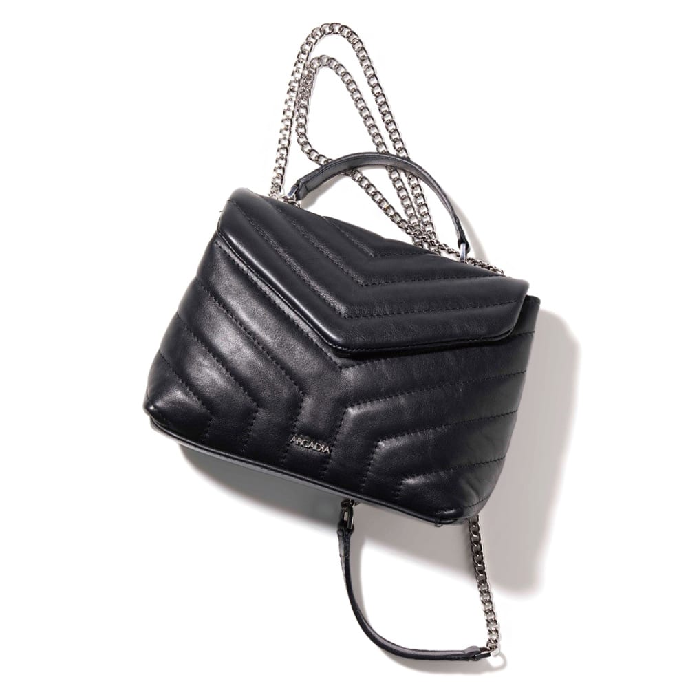 ARCADIA/アルカディア キルティング チェーン バッグ