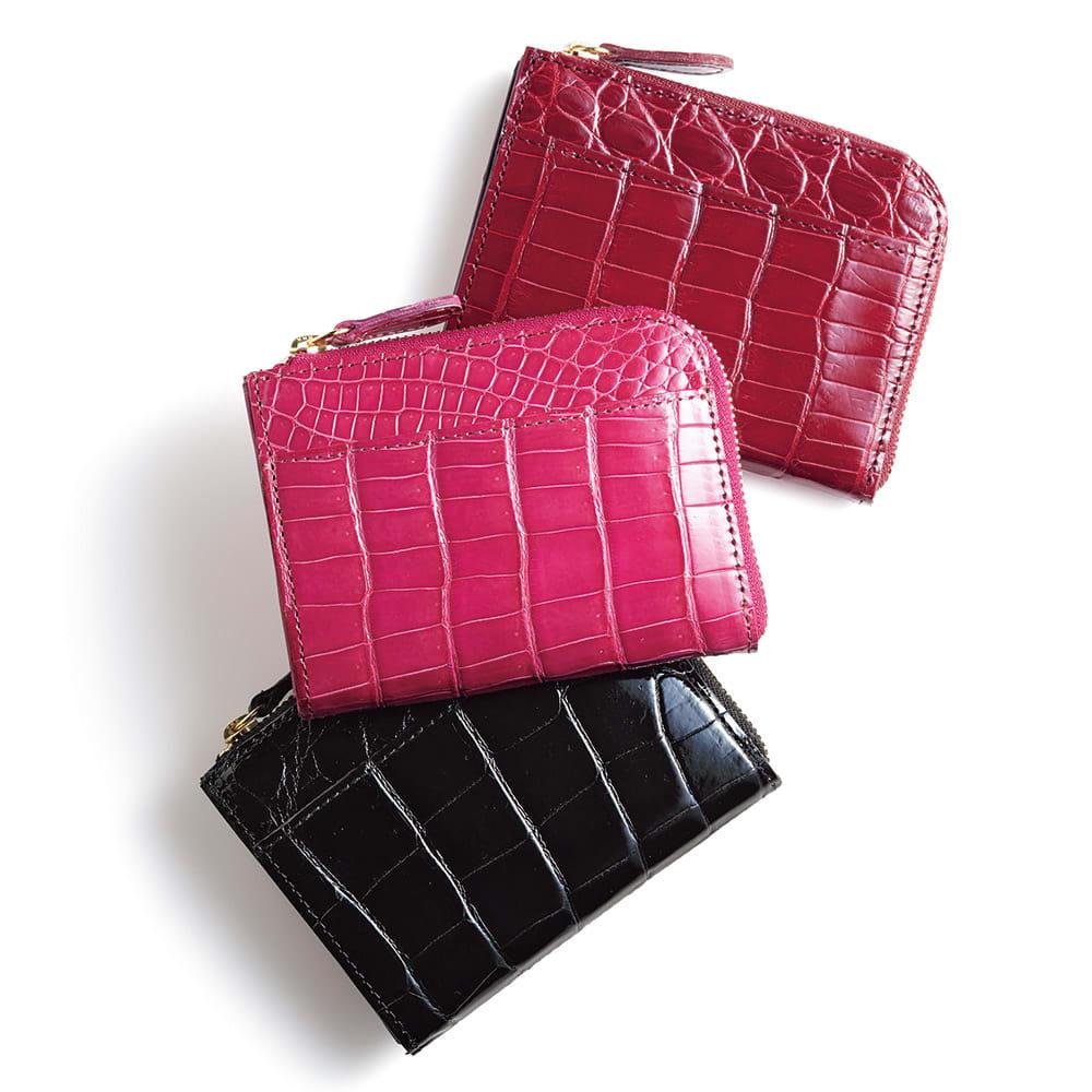 クロコダイル L字 コンパクト財布