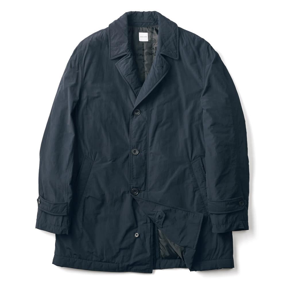 「airpack®」 ライトウェイト 中綿 ステンカラーコート