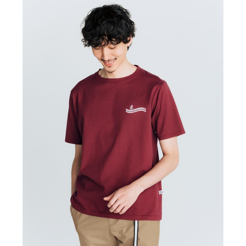 「GRAMICCI(R)」 ランニングマンロゴTシャツ
