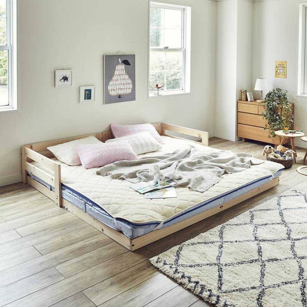 ファミリー寝具セット(ハッピー)幅200cm