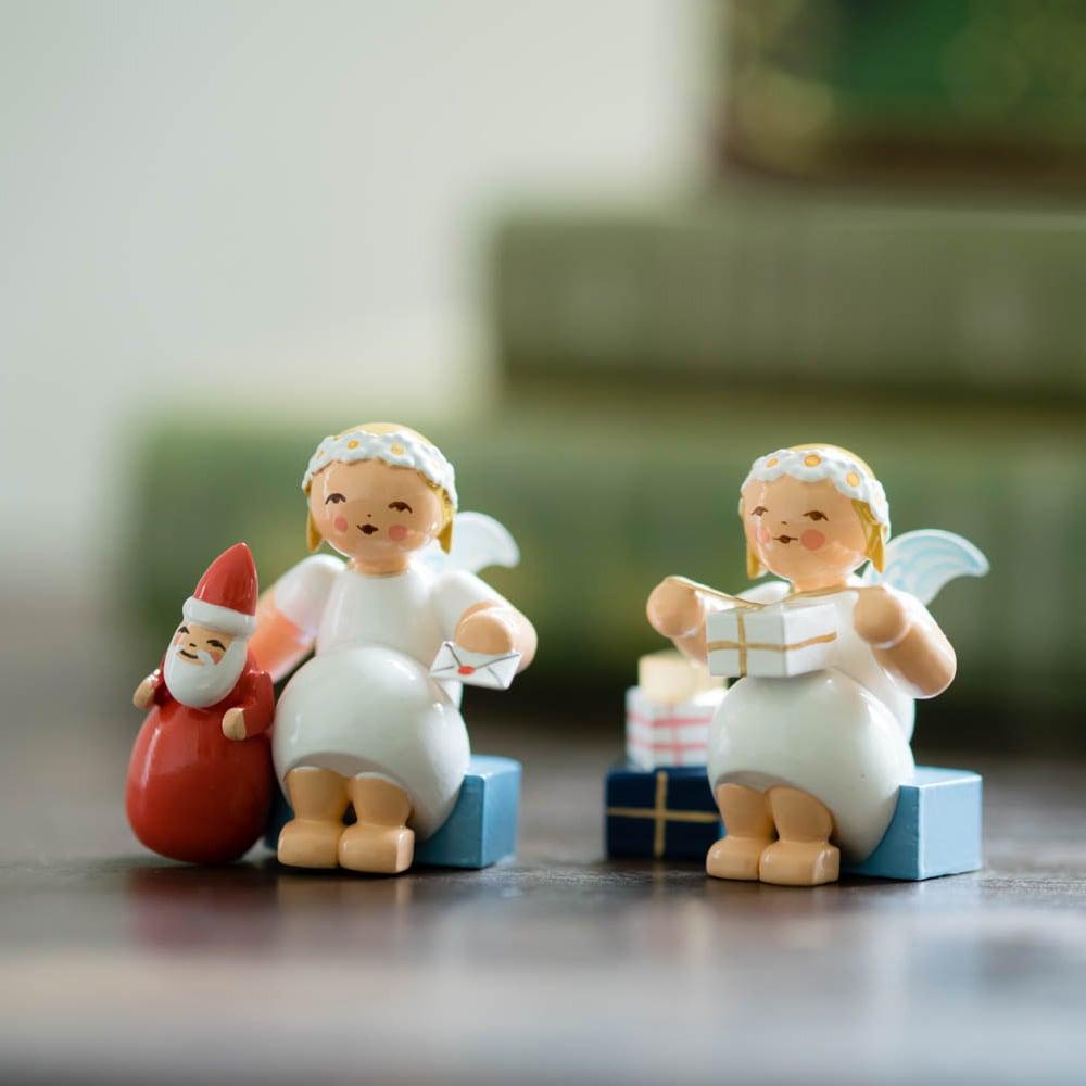 WENDT&KUHN社製 マーガレットの天使 ギフト&サンタクロースセット