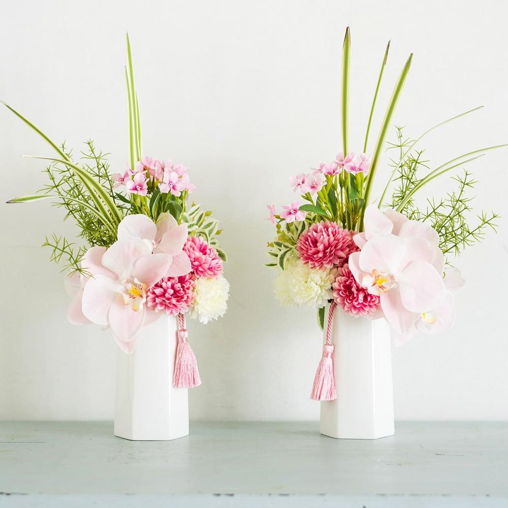 【PRIMA(プリマ)】タッセル付き供花 ピンク