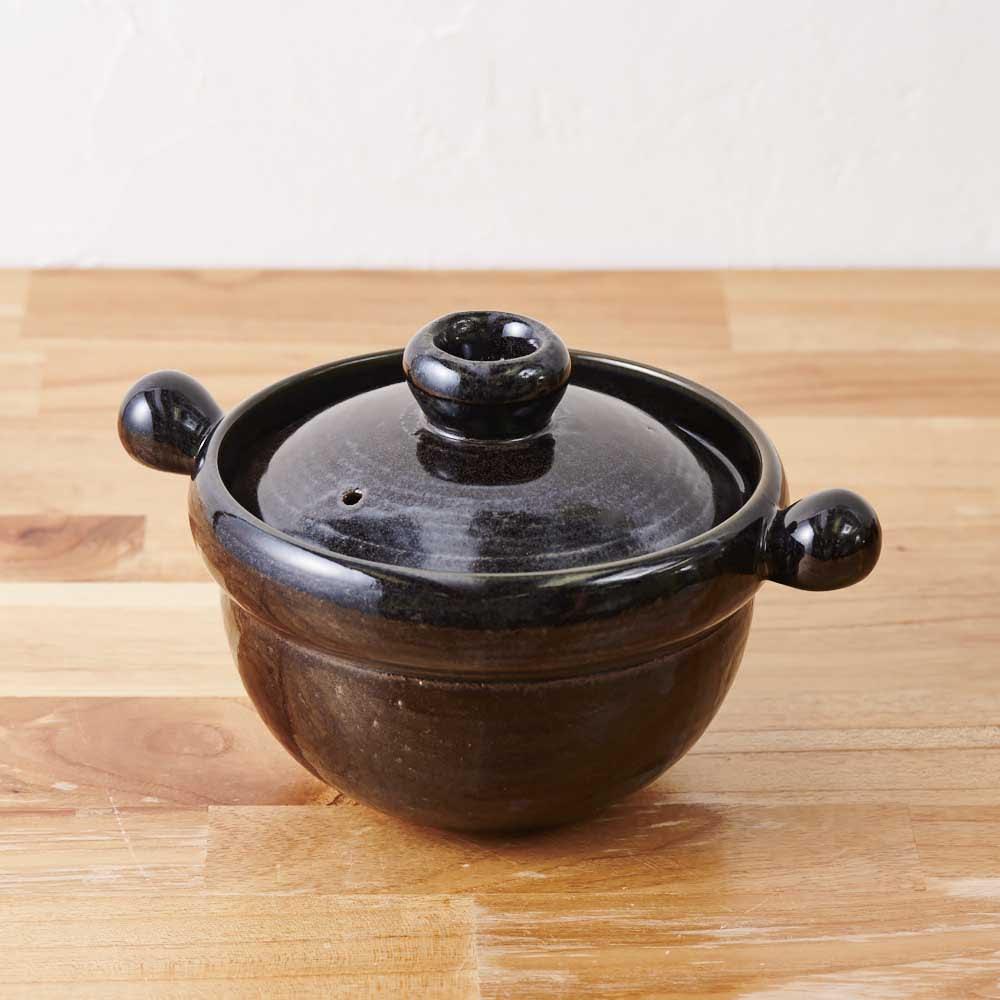 萬古焼ごはん炊き土鍋 (2.5合炊き)