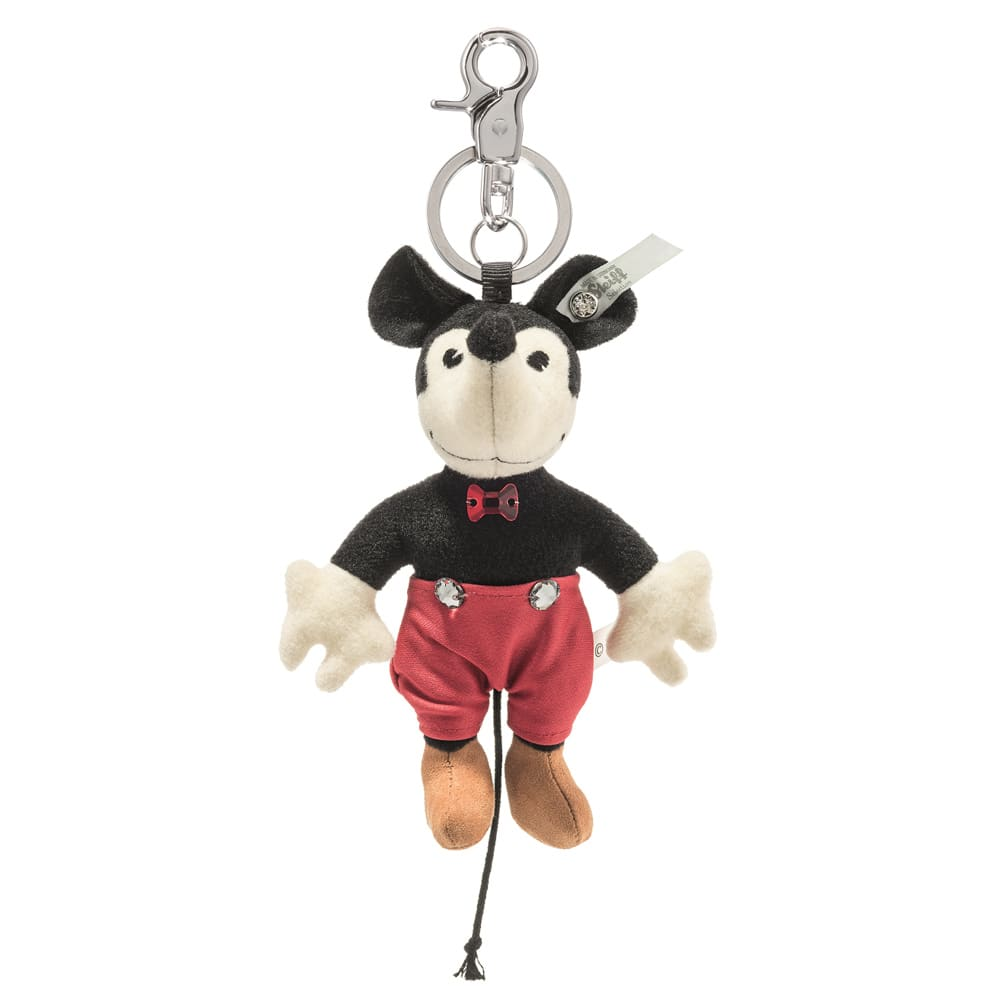Steiff/シュタイフ キーリング ミッキーマウス ミニーマウス