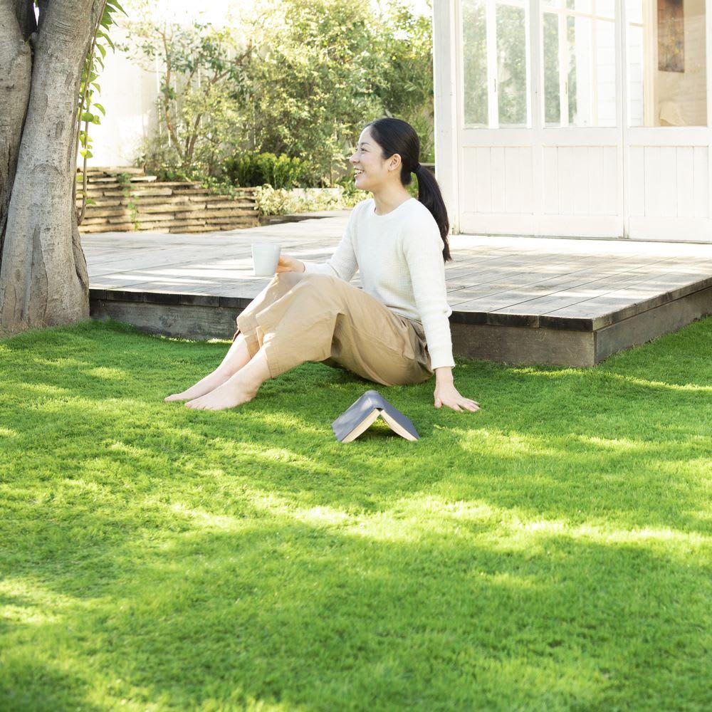 リアルな人工ロール芝 幅1m×長さ5m(5平米)