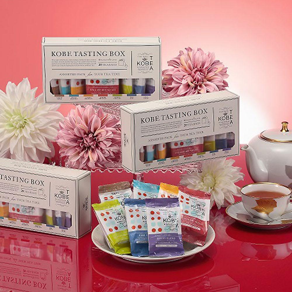 生紅茶 KOBE TASTING BOX<br />28袋入り(7種類×各4パック)