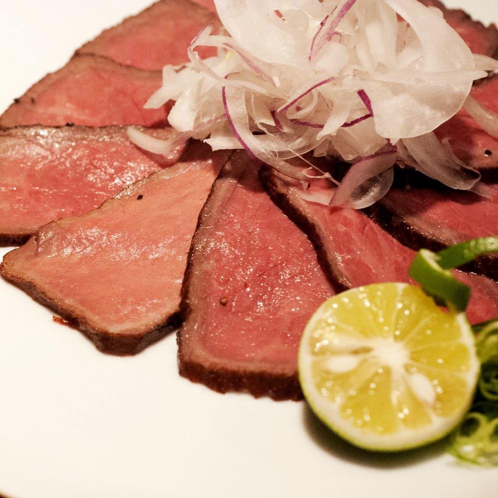魚・肉料理あわじ 黒毛和牛ローストビーフ (350g)