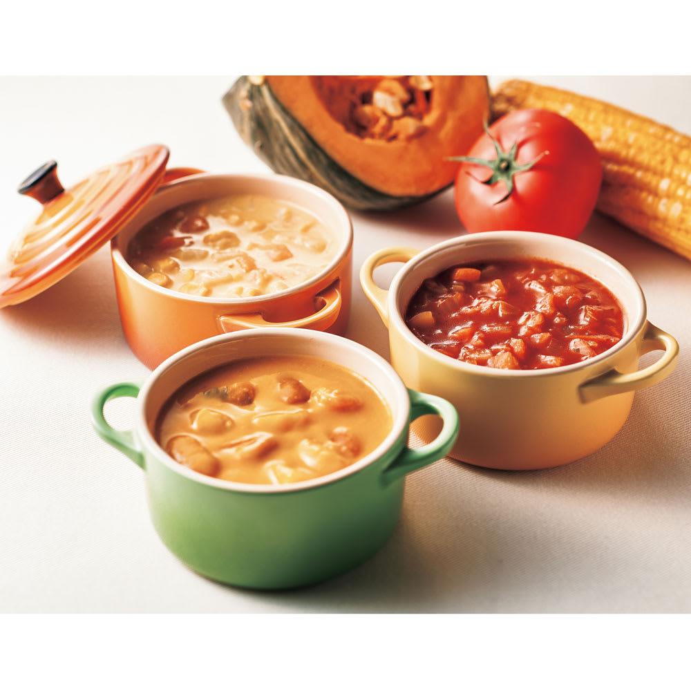 フォレシピ もぐもぐお野菜スープセット (160g×8袋)