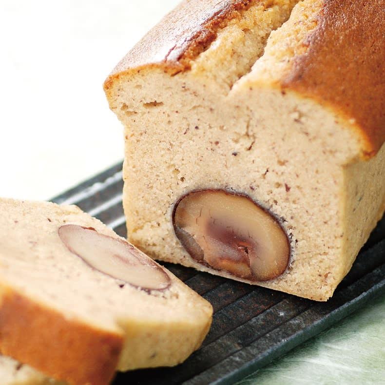 秋の味覚を堪能!<br />四万十地栗パウンドケーキ