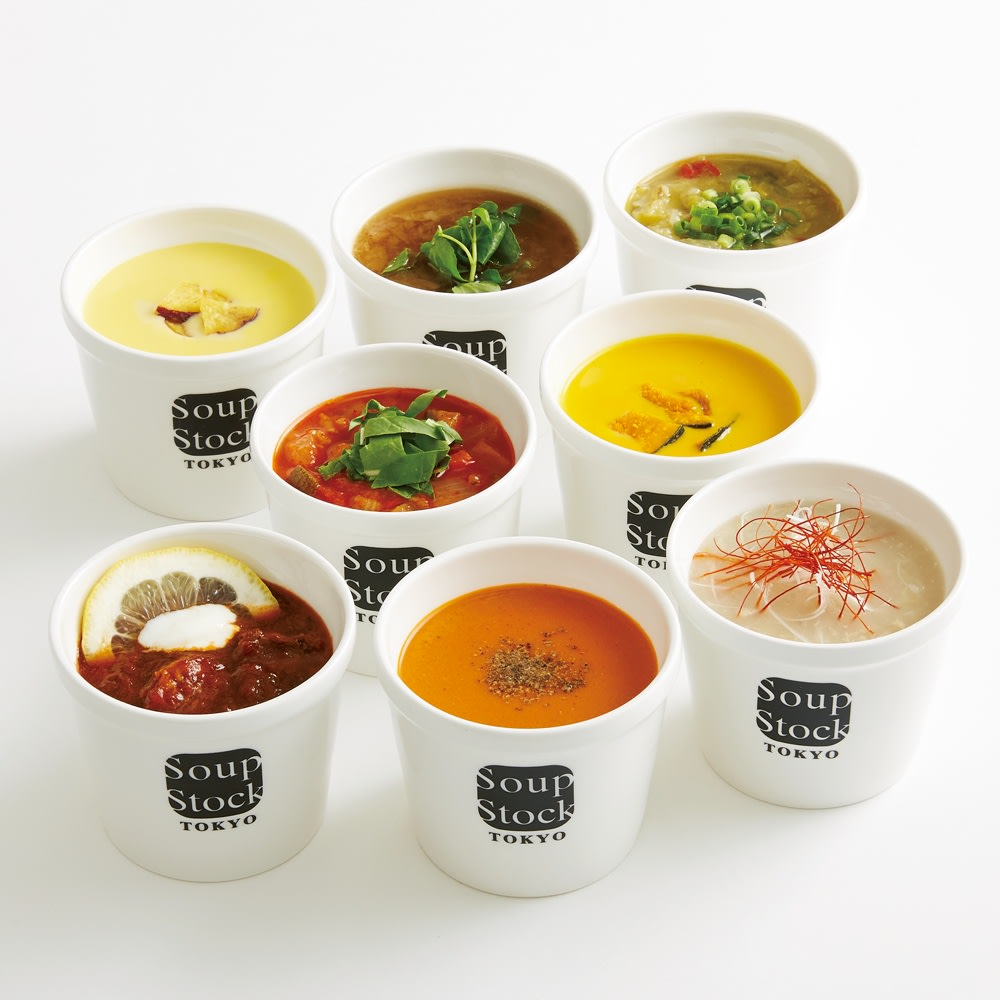 Soup Stock Tokyo(スープストックトーキョー) 人気のスープセット(各180g 計8袋)