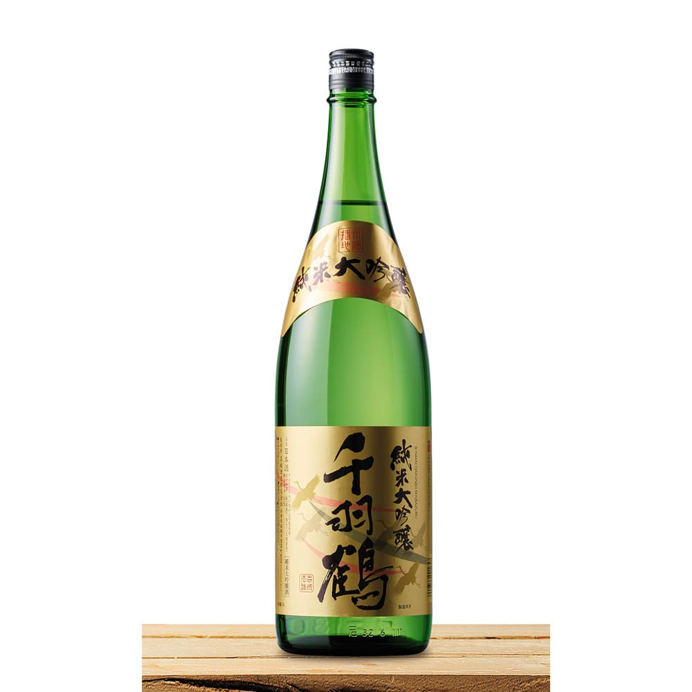 【日本酒】純米大吟醸 千羽鶴 (1.8L)