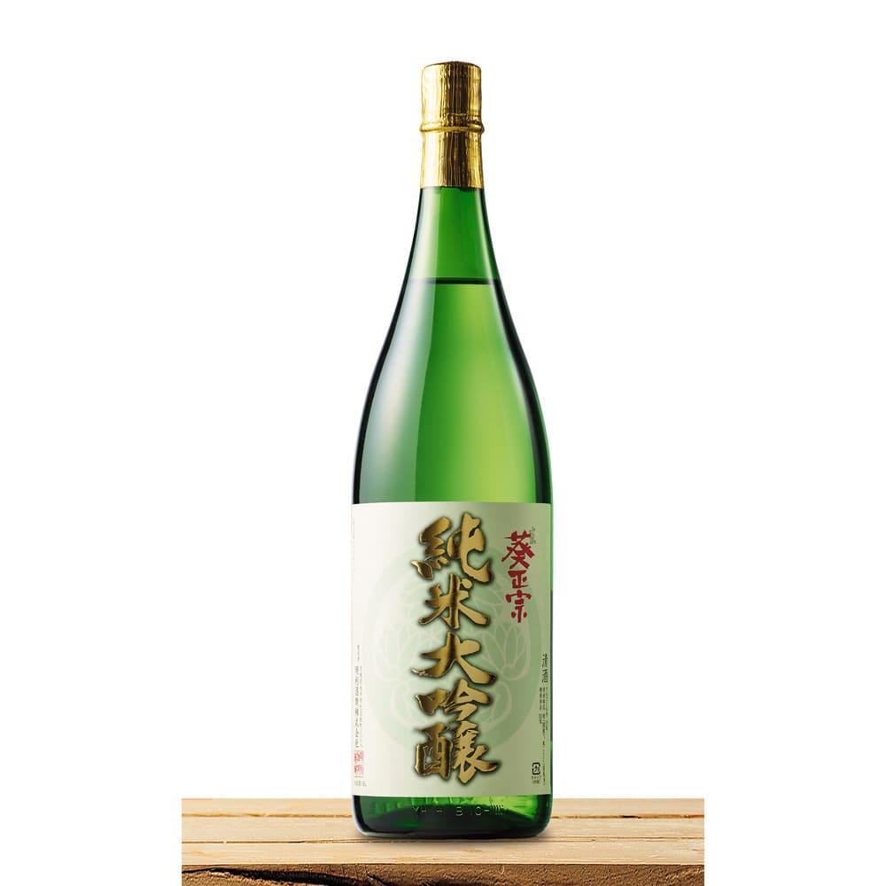 【日本酒】葵正宗 純米大吟醸 (1.8L)