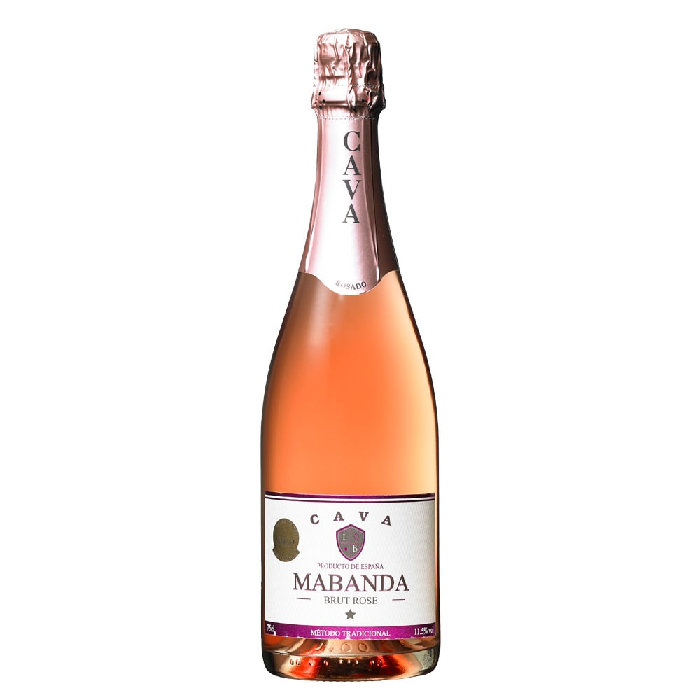 【スパークリングワイン】マバンダ・カバ・ブリュット・ロゼ (750ml)