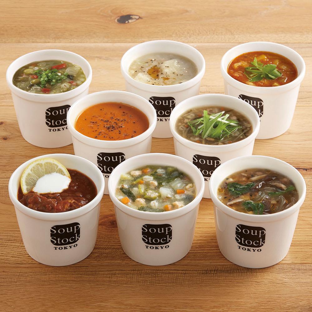 Soup Stock Tokyo(スープストックトーキョー) 和のスープと冬の人気スープセット (各180g 計8袋)