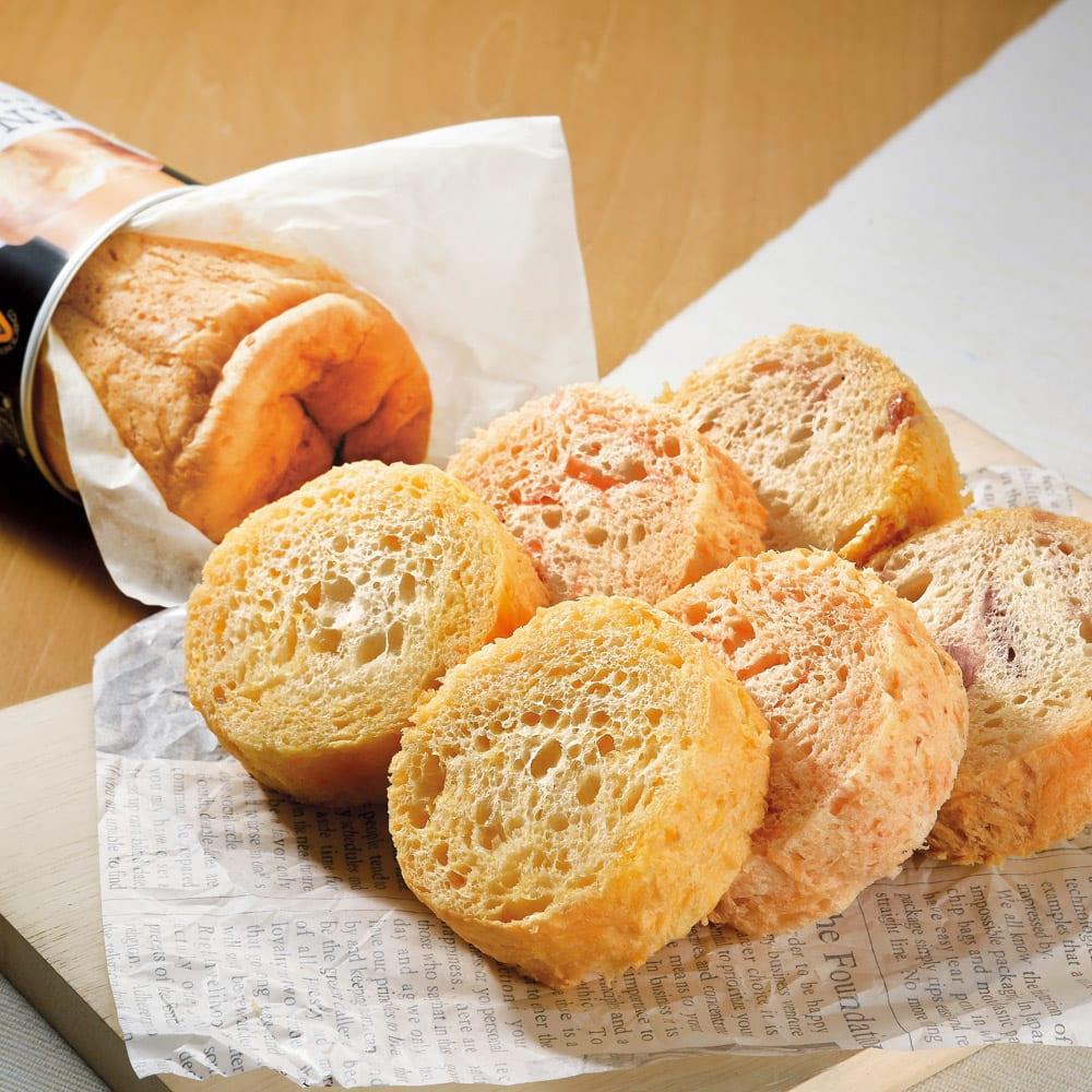 アキモトのパンの缶詰 3種セット (3種 計15缶)