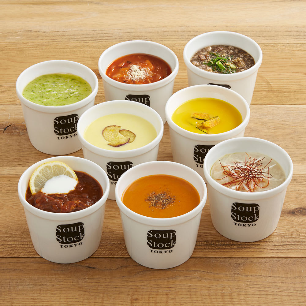 Soup Stock Tokyo(スープストックトーキョー) 8スープセット