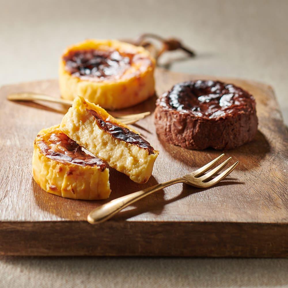 【早割実施中】みれい菓 バスクチーズケーキセット (2種 計6個)