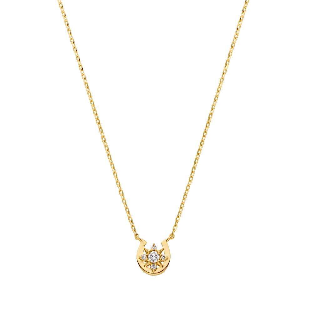 VA VENDOME AOYAMA/VAヴァンドーム青山  K18YG ダイヤモンド ネックレス