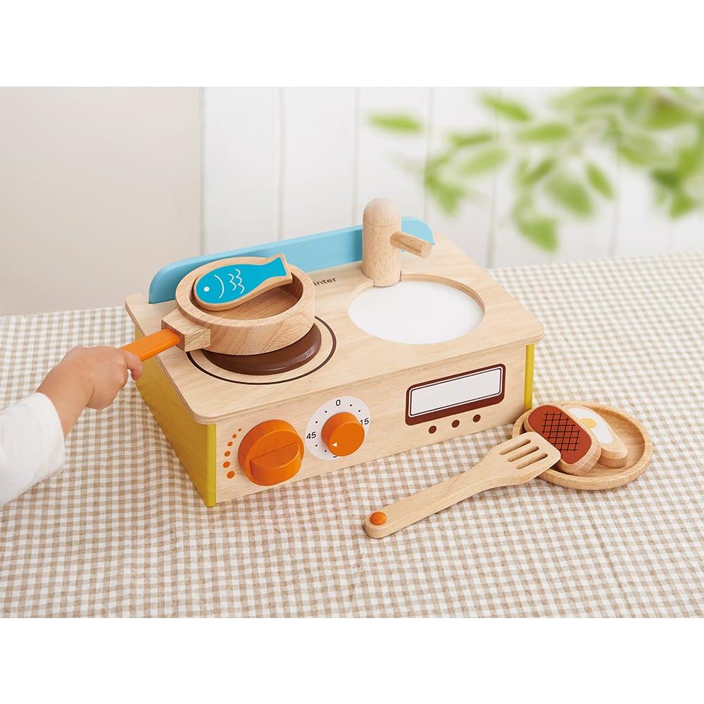 Ed・Inter(エド・インター)/ジュージューくるりん!キッチン|おもちゃ・知育玩具