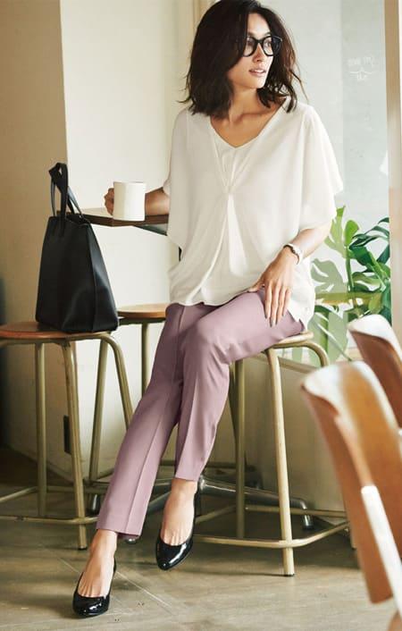 39fa6682ffc68 50代女性におすすめファッションコーディネート おしゃれで新しい自分 ...