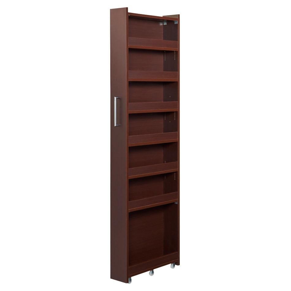 RoomClip商品情報 - 組立不要!52サイズ・3色の156タイプから選べる頑丈すき間ワゴン 幅18奥行55cmホワイト
