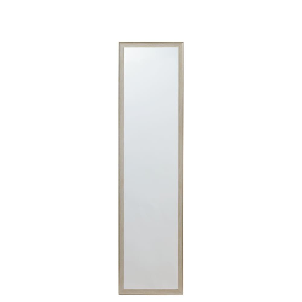 割れないミラー 額装風 樹脂フレーム 幅35×高さ125cm、重さ1.85kg(ミラーサイズ 29×119cm)