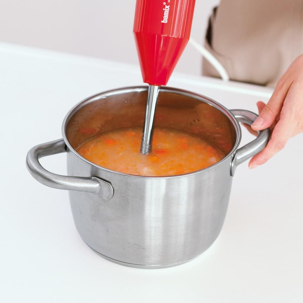 バーミックス M300ベーシック M300ベーシックセット スープ あつあつの鍋にもOK!