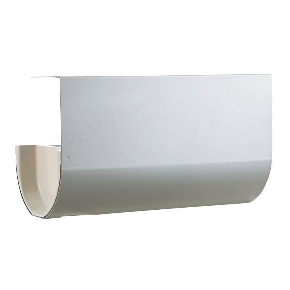 UCHIFIT ウチフィット 吊戸棚下のキッチンペーパーホルダー ロールタイプ用 イ)スタイリッシュなシルバー
