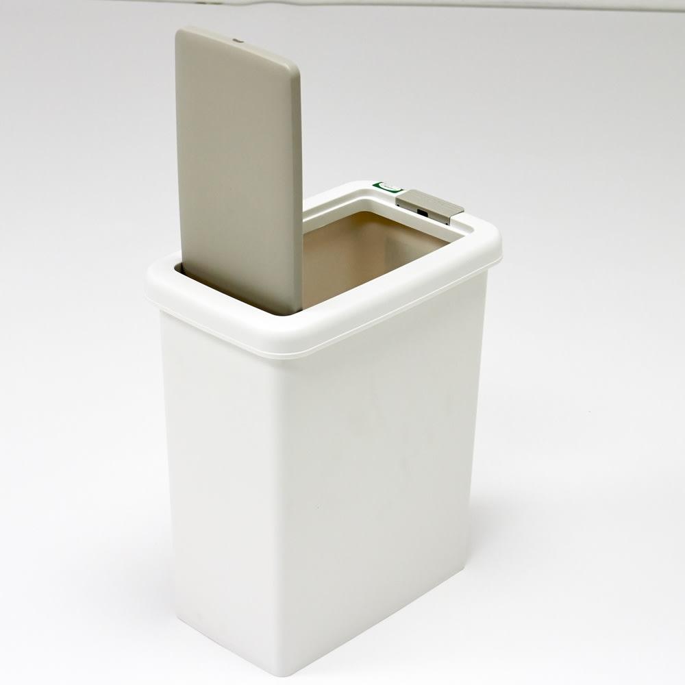 プッシュ式ごみ箱 26.5L