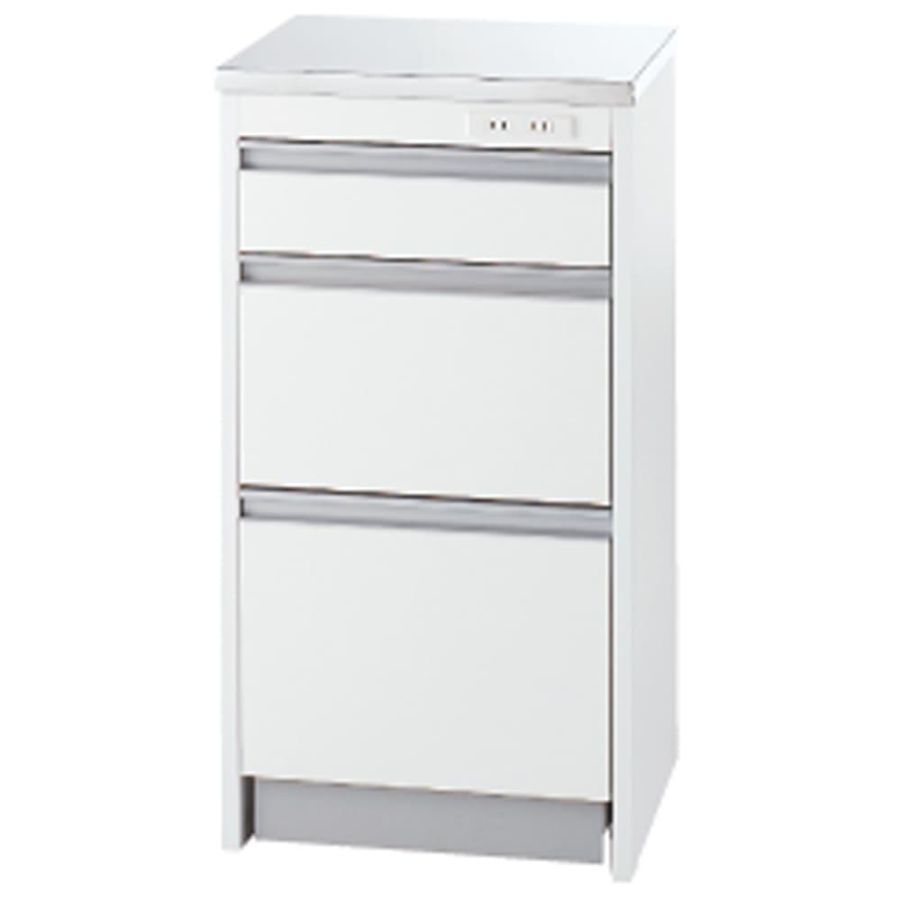 収納物を考えたキッチンカウンター ロータイプ(高さ85cm) 幅44.5cm お届けは【ロータイプ 幅44.5cm】です。