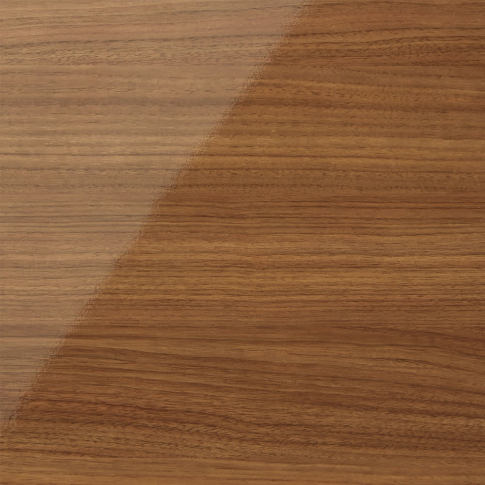 スクエア光沢木目カウンター下収納  1列2マス 幅40cm奥行29cm (イ)ブラウン 美しい光沢と上品な木目柄の3色をご用意しております。