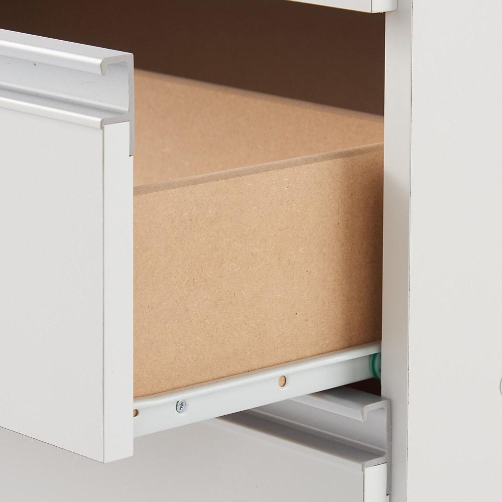 薄型で省スペースキッチン突っ張り収納庫 チェストタイプ 幅45cm・奥行31cm