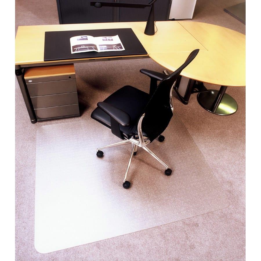 ドイツ製チェアマット カーペット用 使用イメージ