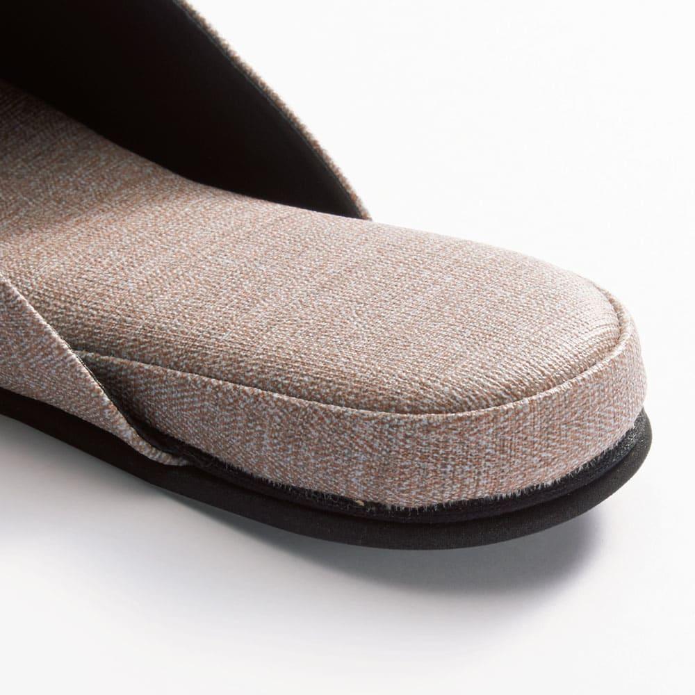 お手入れしやすいゲストスリッパ4足組 スタイリッシュタイプ 高反発ウレタンを贅沢に使用。ふかふかな履き心地にこだわりました。