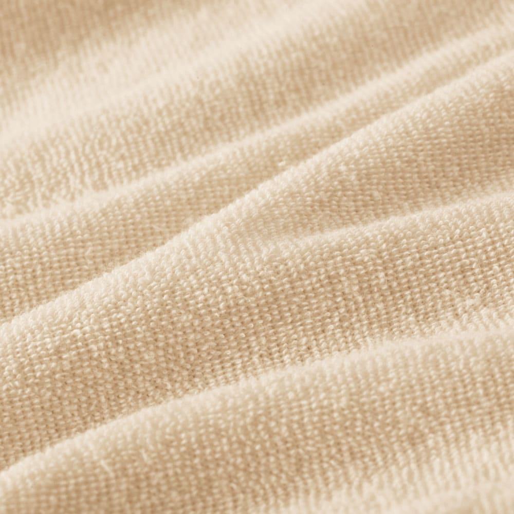 ブレスエアー(R) ピロー タッチ 普通版 [ピローケース付き] ピローケースは、側カバーと同素材のやわらかな綿100%のパイル地です。