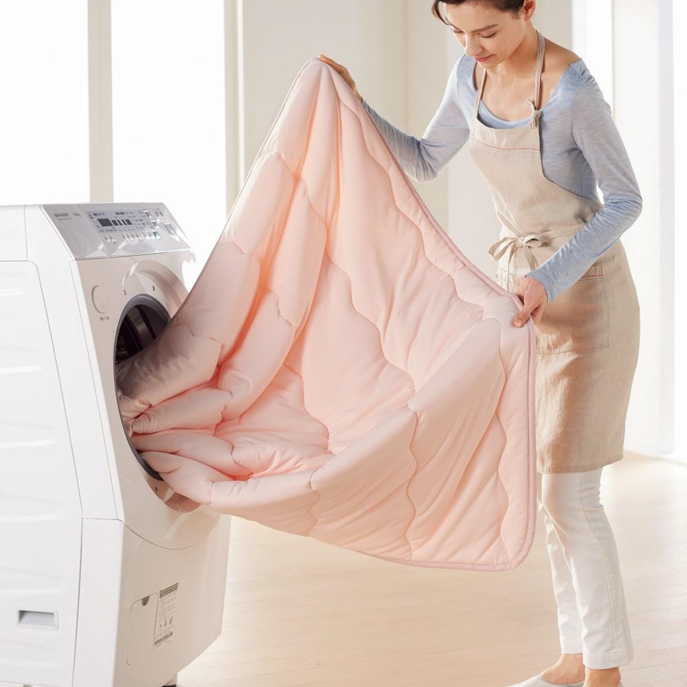 3M TM シンサレート TM 高機能中わた素材布団シリーズ 敷きパッド (イ)ピンク