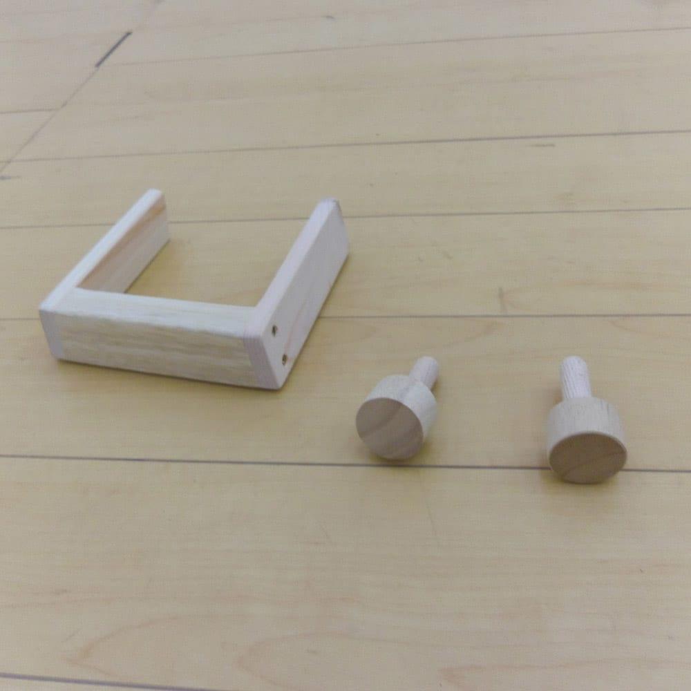 畳空間を簡単に演出できる折りたたみベッド ハイタイプ(棚なし) 開き留めストッパー付