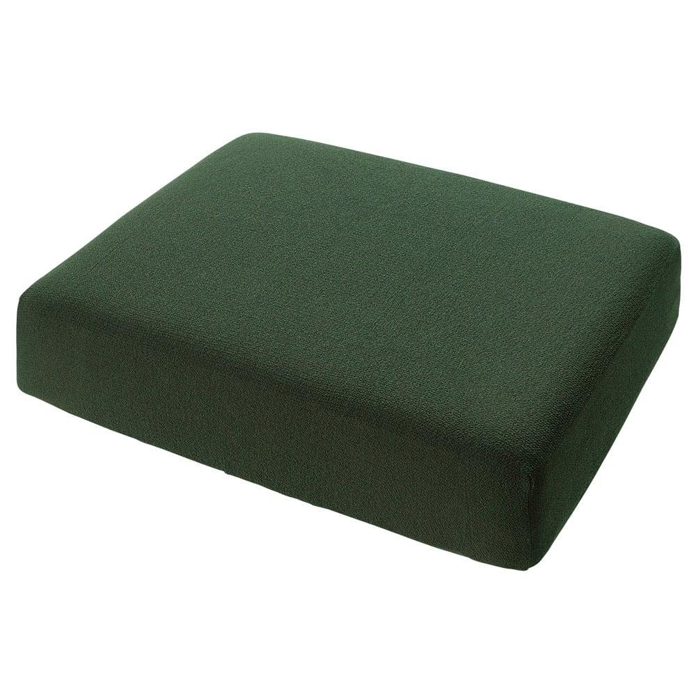 スペイン製カバー[エデン]座面・背もたれ兼用カバー(1枚) (カ)モスグリーン ※写真は1人用サイズです。
