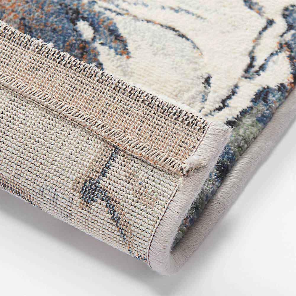 ベルギー製ウィルトン織りマット〈フィデリオ〉 裏面・写真は同シリーズのラグサイズです